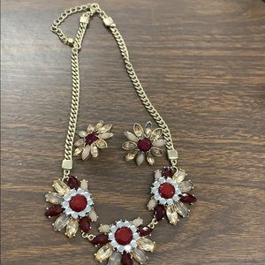 Lane Bryant Necklace and earrings